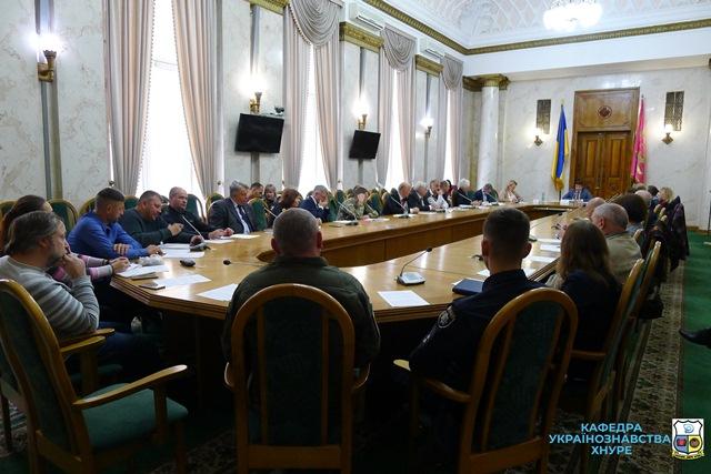 Засідання Координаційної ради з питань національно-патріотичного виховання при ХОДА