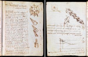 Зошити Леонардо да Вінчі тепер розміщені на сайті музею Вікторії й Альберта